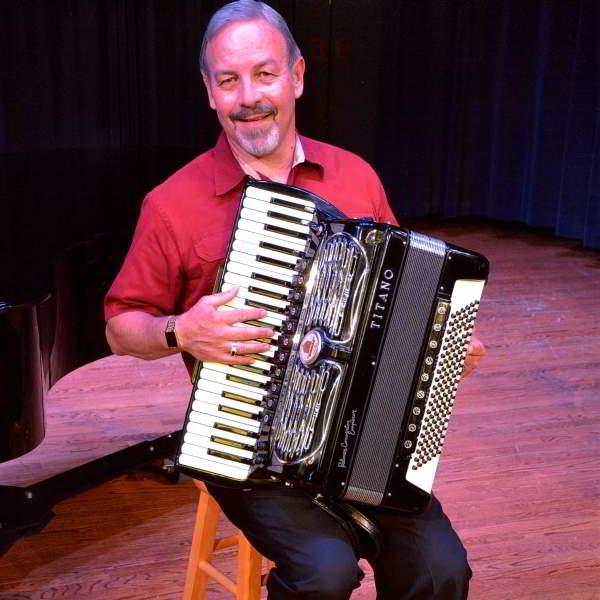 Ricky Sharp with accordion